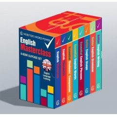 G&G English Masterclass (British English) 8-book slipcase set