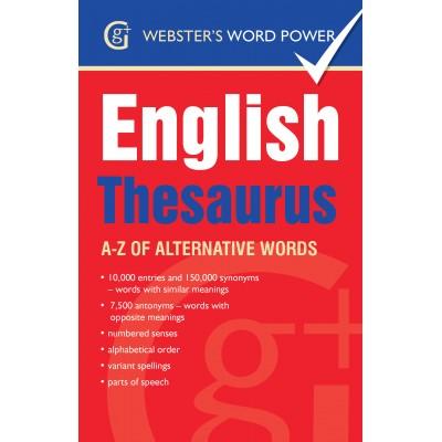 English Thesaurus: A-Z of alternative words