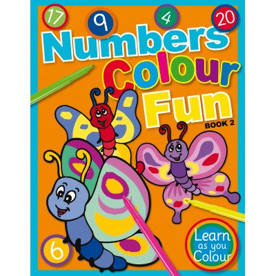 numbers colour fun book 2 learn as you colour series - Fun Pictures To Colour In 2