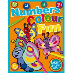 Numbers Colour Fun Book 2 - Learn as you Colour series