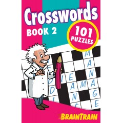 BrainTrain: Crosswords 101 Puzzles: Book 2