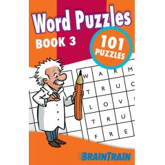 BrainTrain: Word Puzzles 101: Book 3
