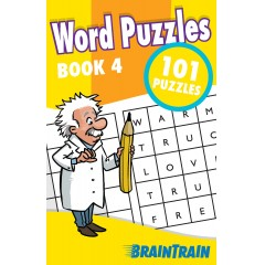 BrainTrain: Word Puzzles 101: Book 4