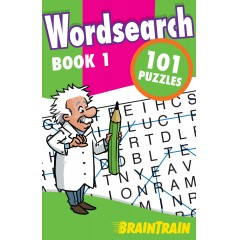 BrainTrain: Wordsearch 101 Puzzles: Book 1
