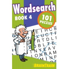BrainTrain: Wordsearch 101 Puzzles: Book 4